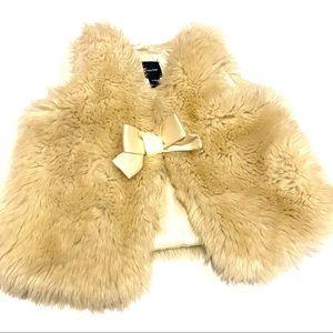 BabyGap Aviator Brick Lane Faux Fur Vest L/XL